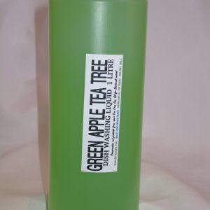 Biodegradable Green Apple Tea Tree Liquid Dish Soap 1000ml