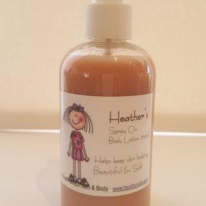 Heather's Vanilla spray on Body Lotion  250ml