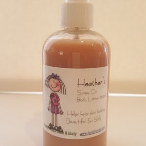 Heather's Vanilla spray on Body Lotion  250ml