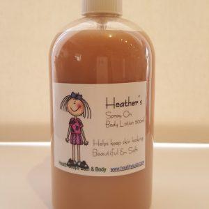 Heather's Vanilla spray on Body Lotion 500ml
