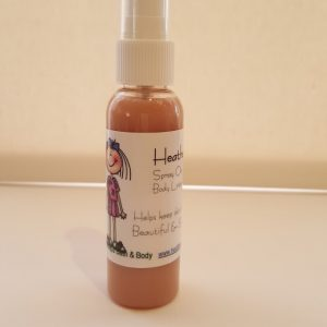 Heather's Vanilla spray on Body Lotion 60ml