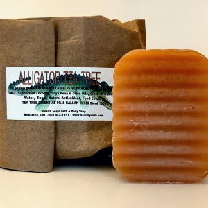 Alligator Tea Tree Bar Soap (organic & biodegradable) 80gr