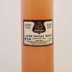 Alligator Tea Tree Acne Facial Wash Refill, 1 litre