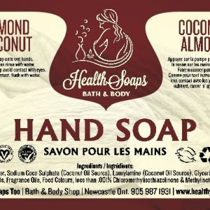 Almond Coconut Hand Soap with pump 500ml
