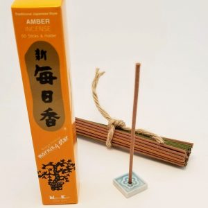 Amber Incense…50 sticks with holder