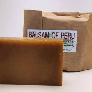 Balsam of Peru Bar Soap (organic & biodegradable) 80gr
