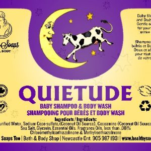 Quietude Baby Shampoo & Bodywash with Pump 500ml