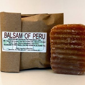 Balsam of Peru Bar Soap (organic & biodegradable) 80gr