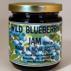 Wild Blueberry Jam 250gr