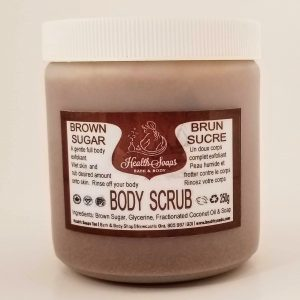 Brown Sugar Body Scrub  250gr