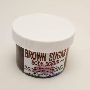 Brown Sugar Body Scrub  300gr