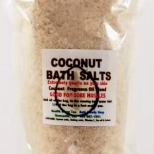 Coconut Bath Salts  300gr