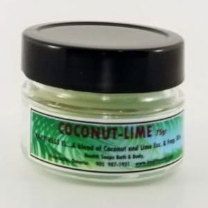 Coconut Lime Jar Candle 75gr