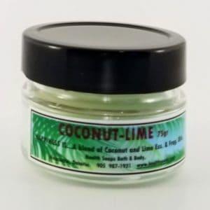 Coconut Lime Jar Candle 75gr