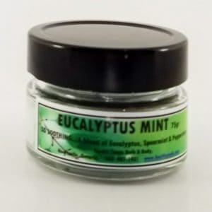 Eucalyptus Mint Jar Candle 75gr