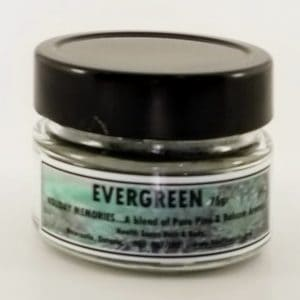 Evergreen Jar Candle 75gr