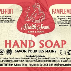 Grapefruit Hand Soap with pump 500ml