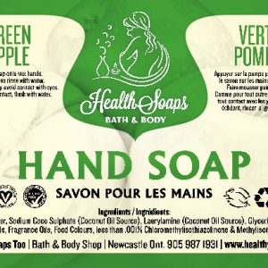 Green Apple Hand Soap with pump 500ml