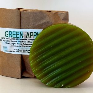 Green Apple Bar Soap (organic & biodegradable) 80gr