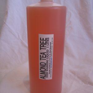 Biodegradable Almond Tea Tree Dish Liquid Soap 1000ml