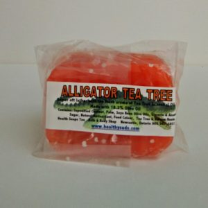 Alligator Tea Tree Bar Soap 80gr