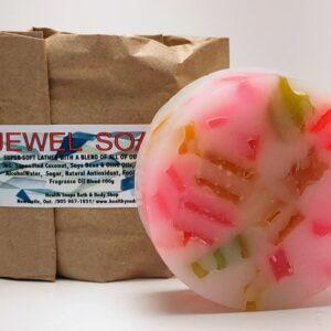 Jewel Bar Soap (organic & biodegradable) 100gr