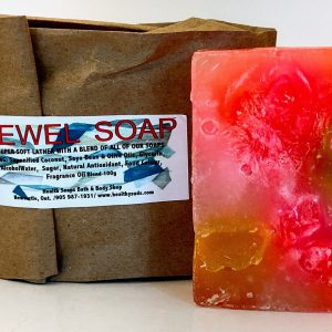Jewel Bar Soap (organic & biodegradable) 80gr
