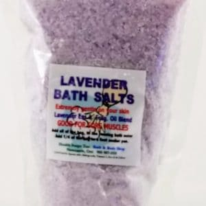 Lavender Bath Salts  300gr