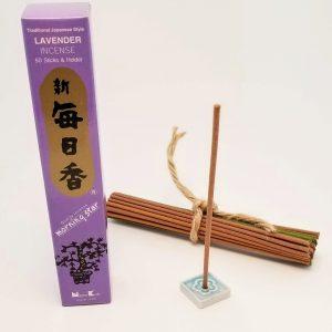 Lavender Incense…5o sticks with holder