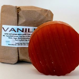 Vanilla Bar Soap (organic & biodegradable) 80gr