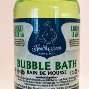 Lavender Green Tea Bubble Bath 250ml