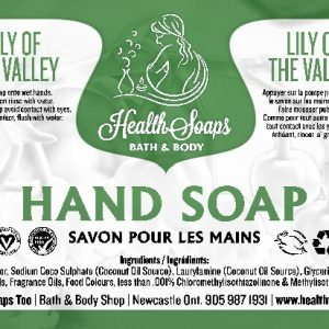 Lily of the Valley Hand Soap with pump 500ml