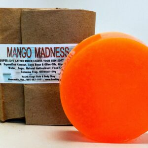 Mango Madness Bar Soap (organic & biodegradable) 80gr
