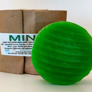 Mint Bar Soap (organic & biodegradable) 80gr