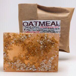 Oatmeal Bar Soap (organic & biodegradable) 80gr