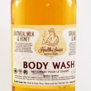 Oatmeal Milk & Honey Body Wash 250ml