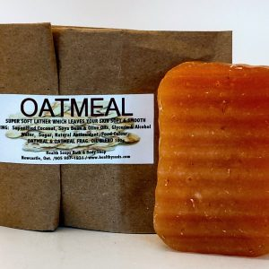 Oatmeal Bar Soap (organic & biodegradable) 80gr