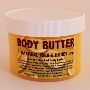 Oatmeal Milk & Honey Body Butter 300gr