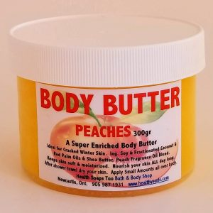 Peaches Body Butter  300gr