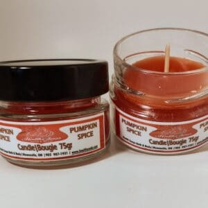 Pumpkin Spice Jar Candle  75gr
