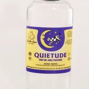 Quietude Baby Massage and Bath Oil 250ml
