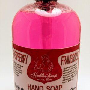 Raspberry Liquid Hand Soap 500ml