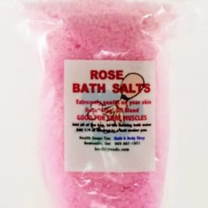 Rose Bath Salts  300gr