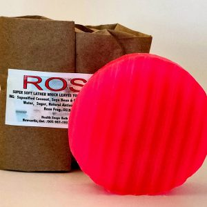 Rose Bar Soap (organic & biodegradable) 80gr