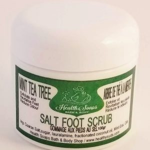 Foot Salt Scrub & Massage Treatment 50gr