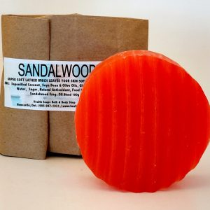 Sandalwood Soap (organic & biodegradable) 80gr