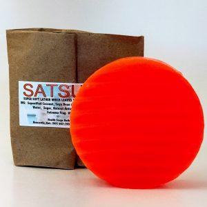 Satsuma Bar Soap 80gr (organic & biodegradable)