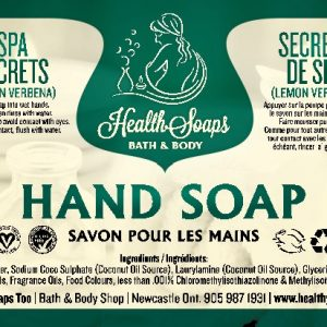 Spa Secrets Hand Soap with pump 500ml