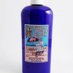 Natural Sunblock SPF 30… 250gr (UVA & UVB)