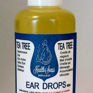 Tea Tree Ear Drops 60ml